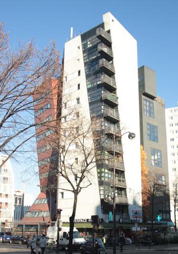 Logements, avenue de Flandre