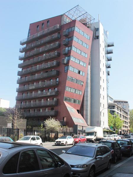 Immeuble de logements, avenue de Flandre