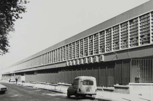 L'entrepôt Mac Donald - Façade d'origine