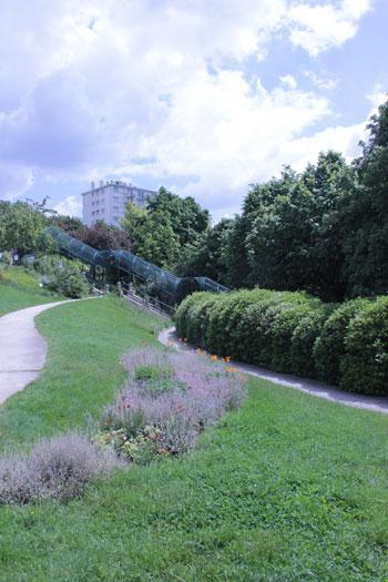 Le parc de Belleville