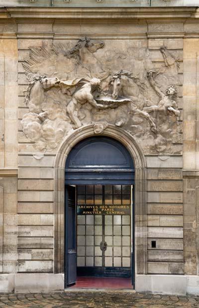 L'hôtel de Rohan - Bas-relief