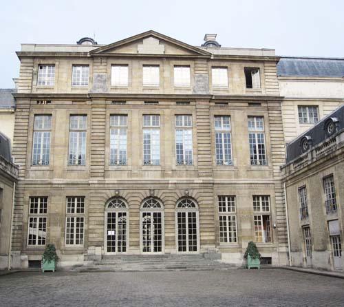 L'hôtel de Rohan - Façade sur cour