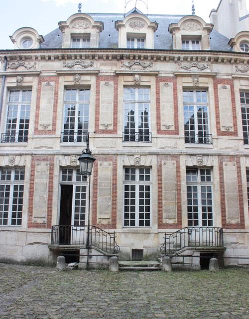 L'hôtel de Châlons-Luxembourg - Façade sur cour
