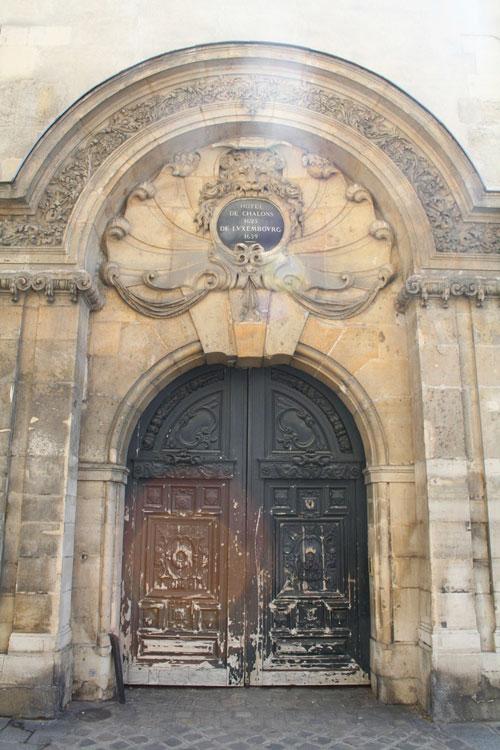 L'hôtel de Châlons-Luxembourg : un portail unique à Paris