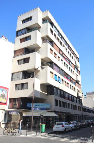 Immeuble de logements, rue de Javel