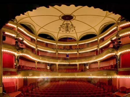 Le théâtre des Bouffes-Parisiens - La salle