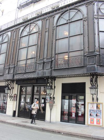 Le théâtre des Bouffes-Parisiens