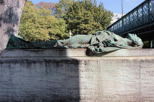 Le cimetière Montmartre - Tombe de Godefroy Cavaignac