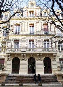 L'hôtel particulier de la Compagnie du gaz - façade en fond de cour