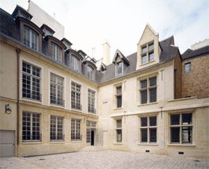 Hôtel de la Faye - façade sur cour