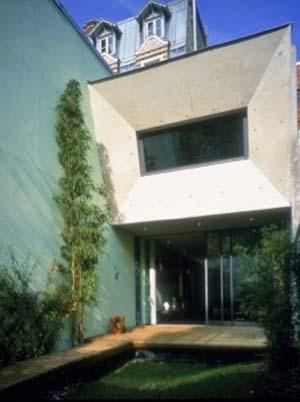 Film House - Façade sur le jardin