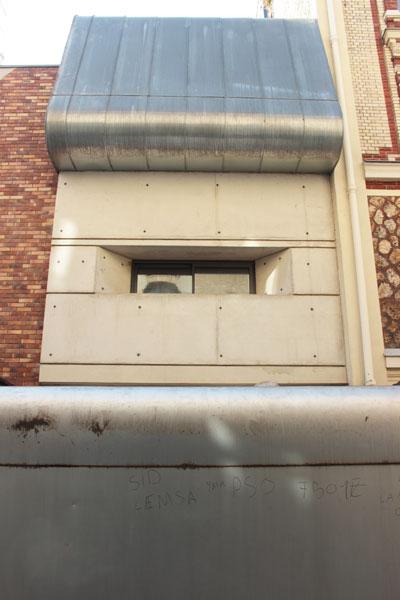 Film House - Façade sur rue