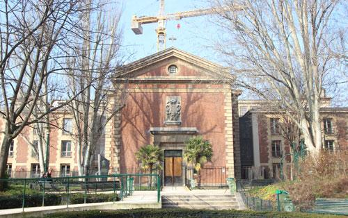 L'hôpital Saint-Lazare - La chapelle