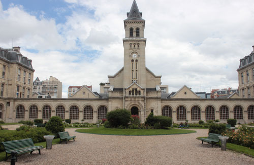L'hôpital Tenon - La chapelle Saint-Louis