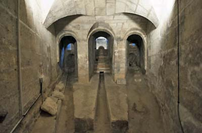 La maison du Fontainier - Le sous-sol
