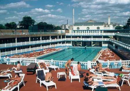 La piscine Molitor à son heure de gloire