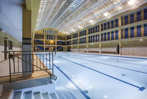La piscine Molitor - Bassin couvert