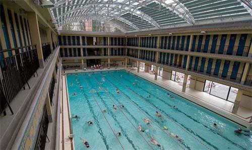 La piscine Pailleron - Le bassin