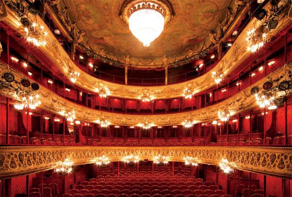 Le théâtre du Palais-Royal : la salle
