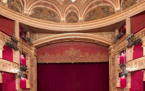Le théâtre des Variétés - La salle