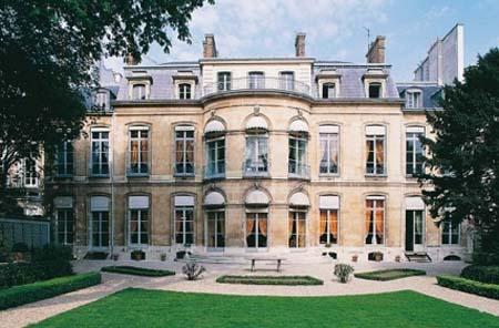 L'hôtel Amelot de Gournay - Façade sur jardin