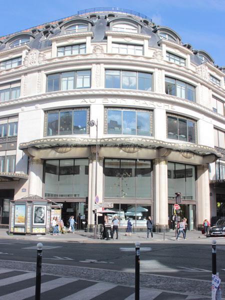 Le Bon Marché : le second magasin construit