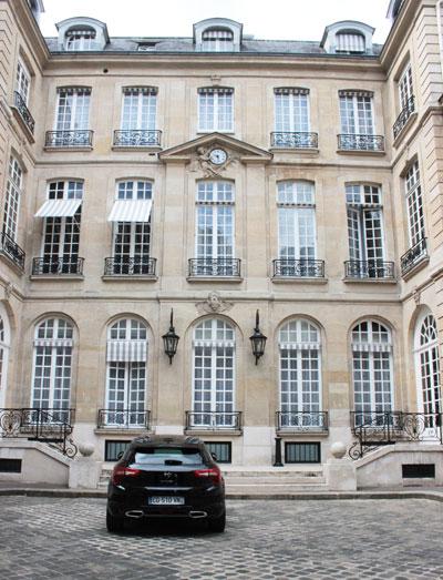 L'hôtel Thoinard - Façade sur cour