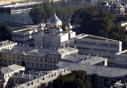 La nouvelle cathédrale russe