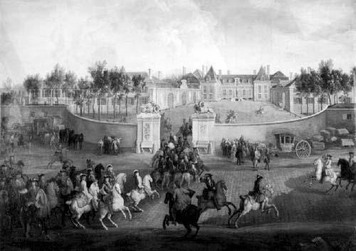 Le premier château de la Muette - Construit sous Louis XV