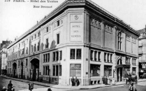 L'hôtel Drouot - Bâtiment d'origine