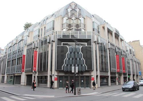 L'hôtel Drouot - Bâtiment actuel
