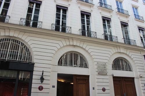 Immeuble où vécut la famille Erard - 13 rue du Mail
