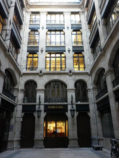 La manufacture Erard - Cour intérieure