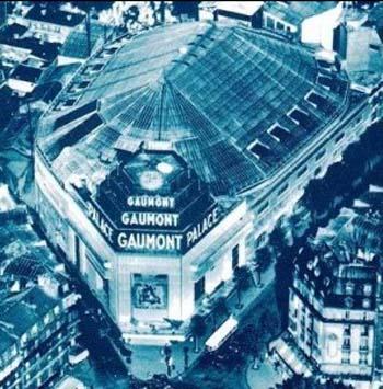 Le Gaumont Palace - Vue aérienne