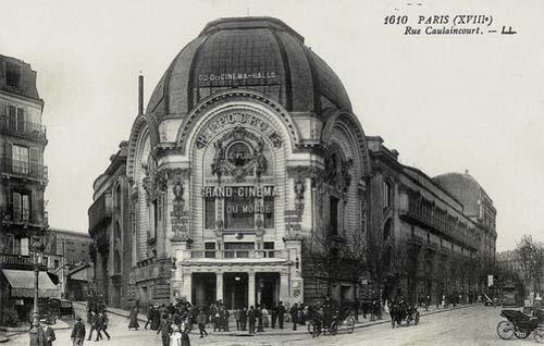 Le Gaumont Palace - Façade Art nouveau