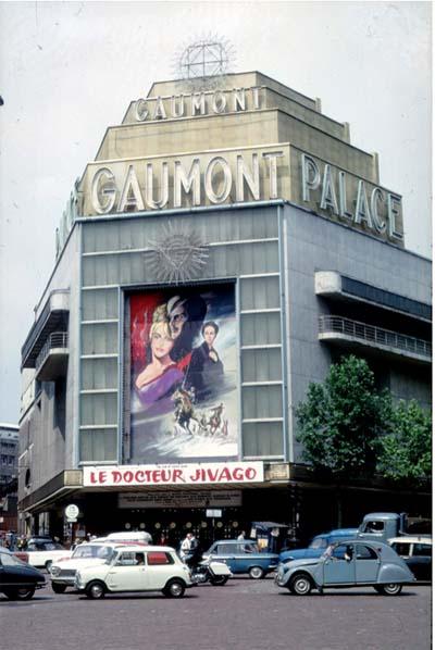 Le Gaumont Palace - La nouvelle façade Art déco