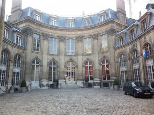 L'hôtel Amelot de Gournay