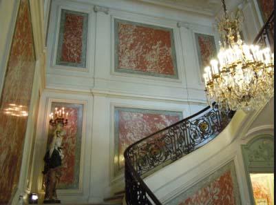L'hôtel de Beauvau - Le grand escalier