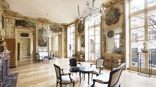 L'hôtel de Bragelongue - Un salon