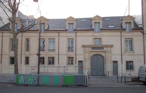 L'hôtel de Miramion - Le bâtiment sur rue