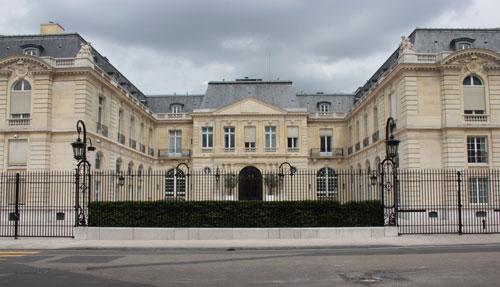 Le second château de la Muette – Siège de l'OCDE