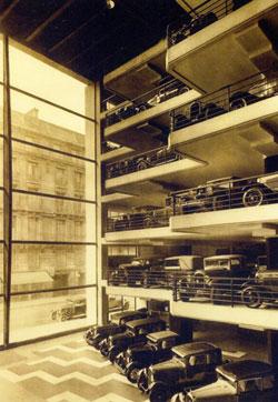 Garage Marbeuf - Après sa construction