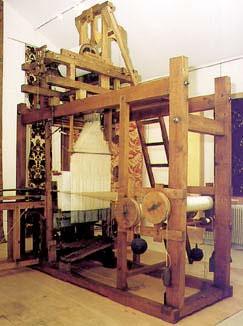 La machine à tisser de Vaucanson
