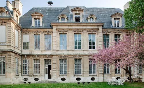 L'hôtel de Miramion - Façade sur jardin