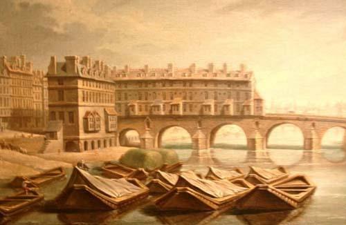 Le Pont-Marie après 1680