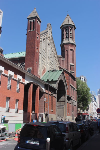 L'église Saint-Christophe de Javel