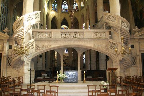 L'église Saint-Etienne du Mont - Le jubé