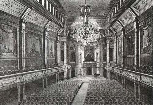 La salle Erard à son origine