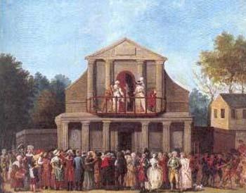La Foire Saint-Laurent - Le théâtre bâti au XVIIIe siècle