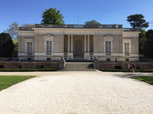 Le trianon ajouté par sir Richard Wallace